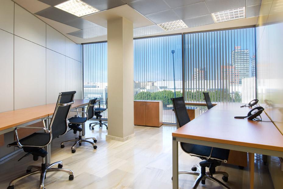Alquiler de oficinas murcia marla center for Oficinas sef murcia